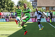 Forest Green Rovers Elliott Frear (11) controls the ball  during the Vanarama National League match between Boreham Wood and Forest Green Rovers at Meadow Park, Boreham Wood, United Kingdom on 6 August 2016. Photo by Shane Healey.