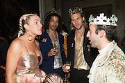 MARGARET CROW; SEAN FRANK; JOLYON VARLEY; MAX ORTEGA, Bella Howard 30th birthday, Castle Howard, Dress code: Flower Fairies and Prince Charming, 3 September 2016