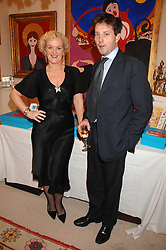 KITTY ARDEN and TARA DOUGLAS-HOME at a sale of pictures and gifts at Kitty Arden's home in Chelsea, London on 29th November 2007.<br /><br />NON EXCLUSIVE - WORLD RIGHTS