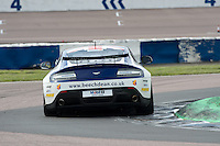 #407 Ross Wylie/Jake Giddings - Beechdean AMR, Aston Martin Vantage GT4 during British GT Championship race at Rockingham, Corby, Northamptonshire, United Kingdom. May 05 2014. World Copyright Peter Taylor/PSP. Copy of publication required for printed pictures.  Every used picture is fee-liable. http://archive.petertaylor-photographic.co.uk