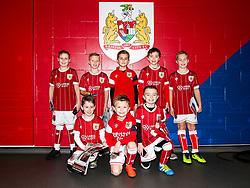 Mascot group - Rogan/JMP - 27/01/2018 - Ashton Gate Stadium - Bristol, England - Bristol City v Queens Park Rangers - Sky Bet Championship.