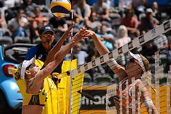 10-06-2016 DUI: Smart Major Beach Volleyball World Tour, Hamburg<br /> Karla Borger #1, Madelein Meppelink<br /> <br /> ***NETHERLANDS ONLY***