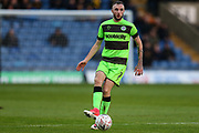 Forest Green Rovers Carl Winchester(7) during the The FA Cup 1st round match between Oxford United and Forest Green Rovers at the Kassam Stadium, Oxford, England on 10 November 2018.