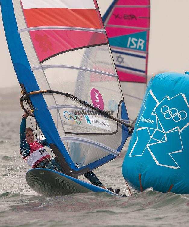 rswpolNoceti-Klepacka Zofia, (POL, RS:X Women)<br /> <br /> 2012 Olympic Games <br /> London / Weymouth