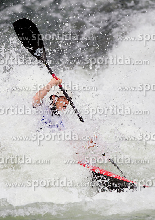 Ursa Kragelj of Slovenia competes during Kayak( K1) Women semifinal race at ICF Canoe Slalom World Cup Sloka 2011, on June 26, 2011, in Tacen, Ljubljana, Slovenia. (Photo by Vid Ponikvar / Sportida)