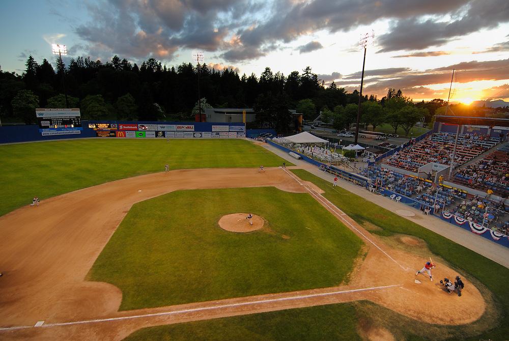Vancouver, British Columbia.  7/8/06--Canadians VS The Everett Aquasox.  Canadians lost 9-0.