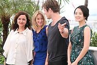 Ilda Santiago, Ludivine Sagnier, Thomas Vinterberg, Zhang Ziyi, Jury Un Certain Regard at the Cannes Film Festival 16th May 2013
