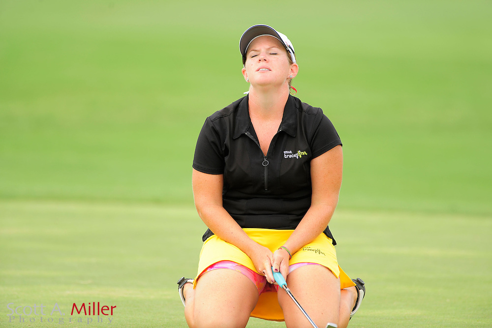 Stephanie Connelly in action during the final round of the Daytona Beach Invitational  at LPGA International on Sep 30, 2012 in Daytona Beach, Florida...©2012 Scott A. Miller