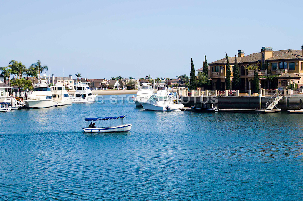 Gilbert Island in Huntington Beach California
