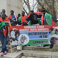 Gambia protest against Dictator Yahya Jammeh