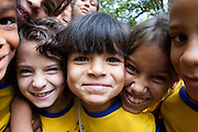 Divinopolis_MG, Brasil...Retrato do rosto de criancas...The children Headshot...Foto: LEO DRUMOND / NITRO