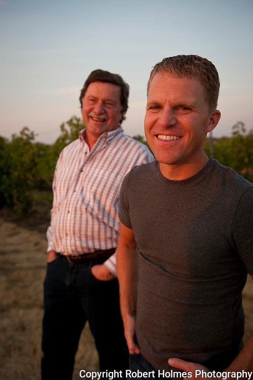 Chris & Gary Figgins, Figgins Family Wine Estates, Walla Walla, Washington