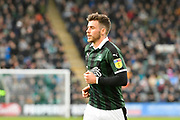 Graham Carey (10) of Plymouth Argyle during the EFL Sky Bet League 1 match between Plymouth Argyle and Accrington Stanley at Home Park, Plymouth, England on 22 December 2018.