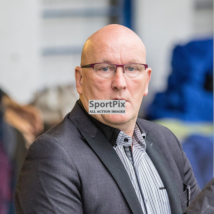 Greenock Morton manager Jim Duffy on the touch line before the Scottish Championship game between Greenock Morton and Ayr United at Cappielow Park on 29th October, 2016 in Greenock, Scotland.   (c) BERNIE CLARK | SportPix.org.uk