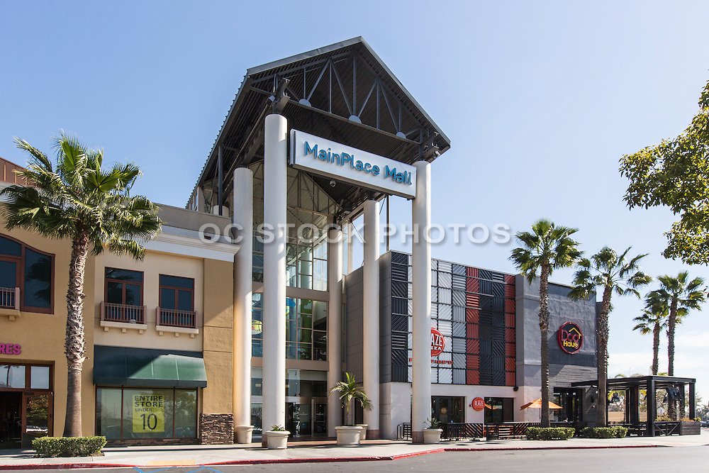 Main Place Mall Santa Ana Socal Stock Photos Amp Oc Stock