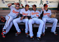Gerardo Parra, Jonathan Schoop, Jimmy Paredes, and Manny Machado, 2015