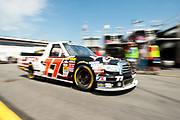 May 20, 2011: The N.C. Education Lottery 200, NASCAR Camping World Truck Series. Justin Lofton