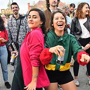 Hundreds attend the EFG London Jazz Festival SummerStage at the LONDON Royal Albert Dock, 0n 31 August 2019, London, UK.