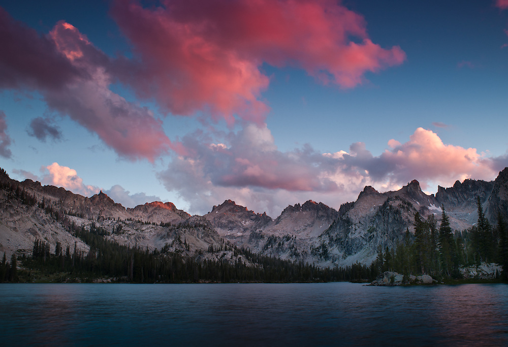 Alice Lake, Sawtooth Range, Idaho