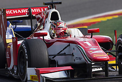 August 27, 2017 - Spa, Belgium - 01 LECLERC Charles from Monaco of Prema Racing. during the FIA  Formula 2 championship at Circuit de Spa-Francorchamps on August 27, 2017 in Spa, Belgium. (Credit Image: © Xavier Bonilla/NurPhoto via ZUMA Press)