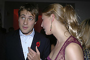 Ben Goldsmith and Lady Gabriella Windsor, Vogue 90th birthday party and to celebrate the Vogue List, Serpentine Gallery. London. 8 November 2006. ONE TIME USE ONLY - DO NOT ARCHIVE  © Copyright Photograph by Dafydd Jones 66 Stockwell Park Rd. London SW9 0DA Tel 020 7733 0108 www.dafjones.com