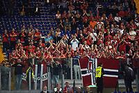 Tifosi Norvegia supporters <br /> Roma 13-10-2015 Stadio Olimpico Euro 2016 qualificazioni - Qualifying round group H Italia - Norvegia / Italy - Norway Foto Andrea Staccioli / Insidefoto