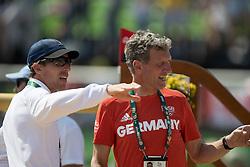 Von Eckermann Henrik, SWE, Beerbaum Ludger, GER<br /> Olympic Games Rio 2016<br /> © Hippo Foto - Dirk Caremans<br /> 19/08/16