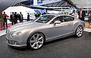 30.SEPTEMBER.2010. PARIS<br /> <br /> BENTLEY CONTINENTAL GT AT THE PARIS INTERNATIONAL MOTOR SHOW, AT THE PARIS EXPO, IN FRANCE.<br /> <br /> BYLINE: EDBIMAGEARCHIVE.COM<br /> <br /> *THIS IMAGE IS STRICTLY FOR UK NEWSPAPERS AND MAGAZINES ONLY*<br /> *FOR WORLD WIDE SALES AND WEB USE PLEASE CONTACT EDBIMAGEARCHIVE - 0208 954 5968*