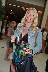 JODIE KIDD at the Veuve Clicquot Mint Polo in The Park after party held at The Hurlingham Club, Ranelagh Gardens, London SW6 on 5th June 2011.