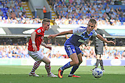 Ipswich Town defender Jonas Knudsen during the EFL Sky Bet Championship match between Ipswich Town and Barnsley at Portman Road, Ipswich, England on 6 August 2016. Photo by Nigel Cole.