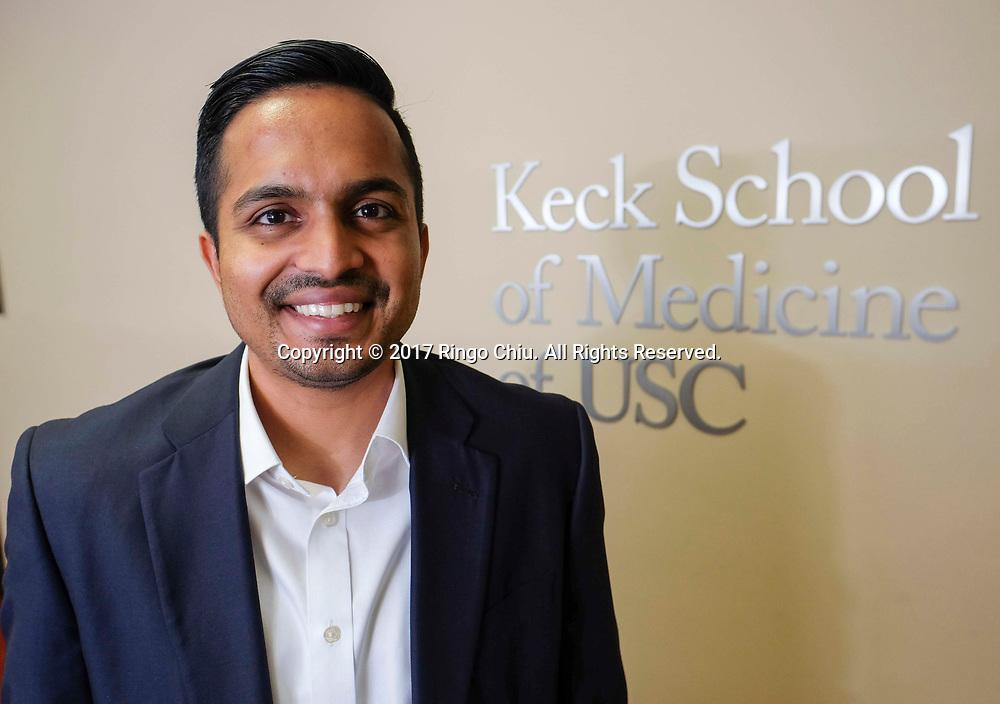 Karthik Murali of Keck School of Medicine of USC