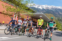25.04.2018, Innsbruck, AUT, ÖRV Trainingslager, UCI Straßenrad WM 2018, im Bild Stefan Denifl (AUT), Gregor Mühlberger (AUT), Laura Stigger (AUT), Mario Gamper (AUT), Michael Gogl (AUT), Patrick Konrad (AUT) // during a Testdrive for the UCI Road World Championships in INNSBRUCK, Austria on 2018/04/25. EXPA Pictures © 2018, PhotoCredit: EXPA/ JFK
