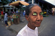 Market vendor, Mandalay