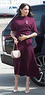 Meghan Markle & Prince Harry Depart Australia