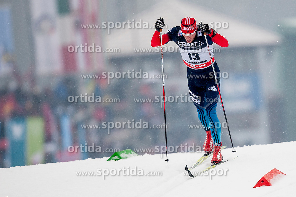 Konstantin Glavatskikh of Russia during mens 10km Classic individual start of the Tour de Ski 2014 of the FIS cross country World cup on January 4th, 2014 in Cross Country Centre Lago di Tesero, Val di Fiemme, Italy. (Photo by Urban Urbanc / Sportida)