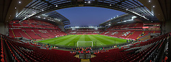 LIVERPOOL, ENGLAND - Wednesday, January 30, 2019: A general view of Liverpool's Anfield stadium before the FA Premier League match between Liverpool FC and Leicester City FC. (Pic by David Rawcliffe/Propaganda)
