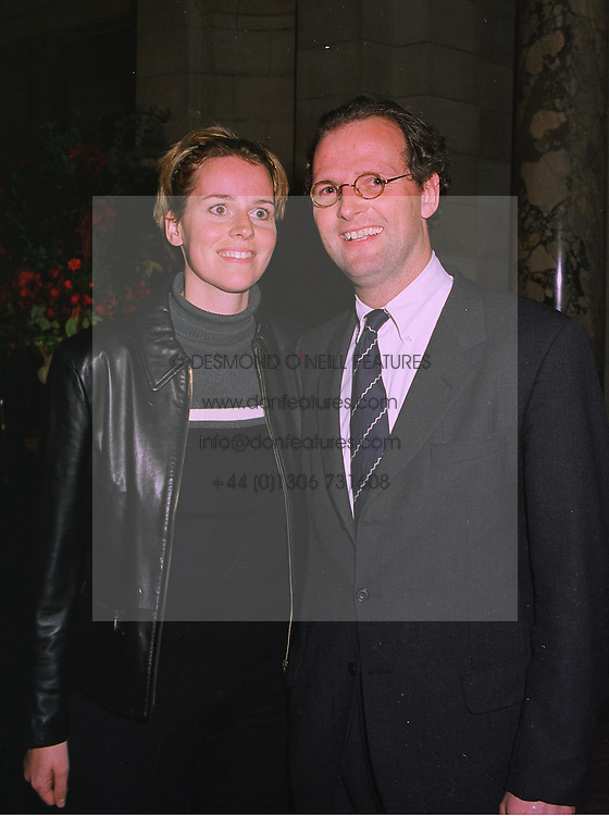 COUNT & COUNTESS HANS-KONRAD FINCK ZU FINCKENSTEIN at a party in London on 25th November 1997.MDR 45