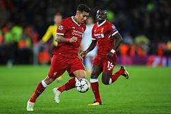 Roberto Firmino of Liverpool - Mandatory by-line: Matt McNulty/JMP - 24/04/2018 - FOOTBALL - Anfield - Liverpool, England - Liverpool v Roma - UEFA Champions League Semi Final, 1st Leg