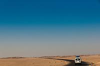 Driving to Hurghada, Egypt