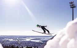 10.03.2019, Holmenkollen, Oslo, NOR, FIS Weltcup Skisprung, Raw Air, Oslo, Schisprung, Einzelbewerb, Damen, im Bild Ursa Bogataj (SLO) // Ursa Bogataj of Slovenia during the ladie's individual competition of the Raw Air Series of FIS Ski Jumping World Cup at the Holmenkollen in Oslo, Norway on 2019/03/10. EXPA Pictures © 2019, PhotoCredit: EXPA/ JFK