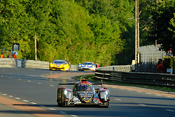 June 18, 2017 - Le Mans, Sarthe, France - Jackie Chan DC Racing Oreca 07 rider DAVID CHENG in action during the race of the 24 hours of Le Mans on the Le Mans Circuit - France (Credit Image: © Pierre Stevenin via ZUMA Wire)