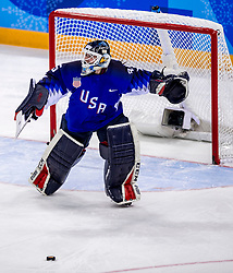 22-02-2018 KOR: Olympic Games day 13, PyeongChang<br /> Final Ice Hockey Canada - USA 2-3 / Madeline Rooney #35 of the United States