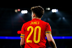 Daniel James of Wales - Rogan/JMP - 19/11/2019 - FOOTBALL - Cardiff City Stadium - Cardiff, Wales - Wales v Hungary - UEFA Euro 2020 Qualifiers.