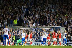 Goal, Glenn Murray of Brighton & Hove Albion scores, Brighton & Hove Albion 2-0 Nottingham Forest - Mandatory by-line: Jason Brown/JMP - 12/08/2016 - FOOTBALL - Amex Stadium - Brighton, England - Brighton & Hove Albion v Nottingham Forest - Sky Bet Championship