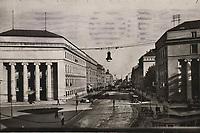 Zagreb : pogled na Burzu i Račkog ul. <br /> <br /> ImpresumS. l. : P. H. R. Z., [1932].<br /> Materijalni opis1 razglednica : tisak ; 9,1 x 14 cm.<br /> Vrstavizualna građa • razglednice<br /> ZbirkaZbirka razglednica • Grafička zbirka NSK<br /> Formatimage/jpeg<br /> PredmetZagreb –– Trg hrvatskih velikana<br /> SignaturaRZG-THVEL-10<br /> Obuhvat(vremenski)20. stoljeće<br /> NapomenaRazglednica je putovala 1932. godine.<br /> PravaJavno dobro<br /> Identifikatori000954409<br /> NBN.HRNBN: urn:nbn:hr:238:737193 <br /> <br /> Izvor: Digitalne zbirke Nacionalne i sveučilišne knjižnice u Zagrebu