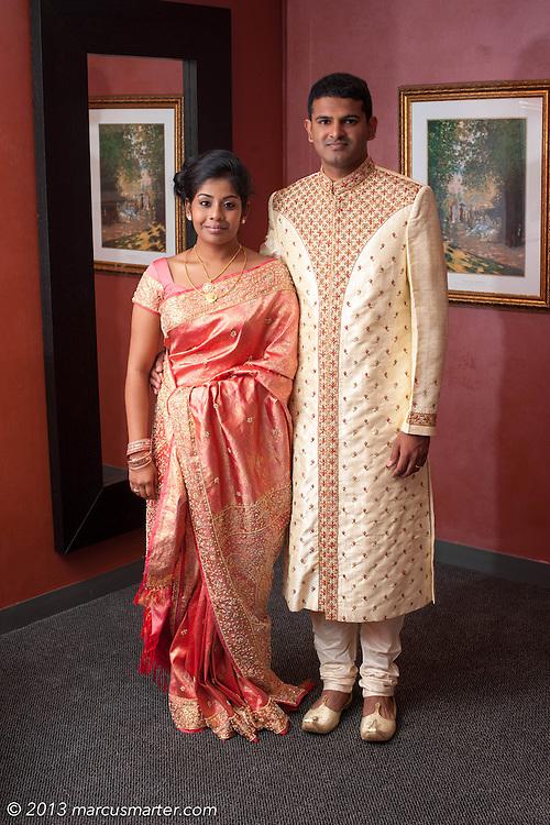 Deborah & Lakshmikanth pictured August 17, 2013.