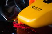 March 7-10, 2017: Circuit de Catalunya. Renault Sport Formula One Team, R.S.17 flo vis detail