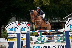 Straten, Cindy van der (BEL) Chacco R<br /> Paderborn - Challenge 2017 <br /> Championat von Paderborn, Qualifikation, DKB Riders Tour, Feature, Impression, Szene<br /> © www.sportfotos-lafrentz.de/Stefan Lafrentz
