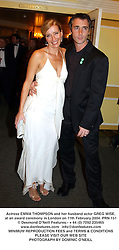 Actress EMMA THOMPSON and her husband actor GREG WISE, at an award ceremony in London on 11th February 2004.PRN 151