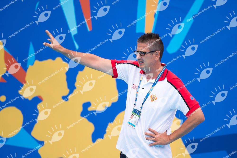 LOMPAR Vido coach MNE<br /> JAPAN vs MONTENEGRO<br /> JPN vs MNE <br /> Waterpolo - Men's preliminary round Group D<br /> Day 08 31/07/2015<br /> XVI FINA World Championships Aquatics Swimming<br /> Kazan Tatarstan RUS July 24 - Aug. 9 2015 <br /> Photo Giorgio Perottino/Deepbluemedia/Insidefoto